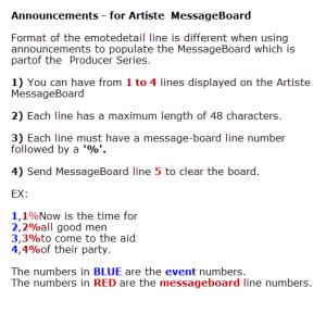 Artiste_MessageBoard